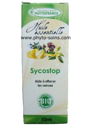 """Complexe d'huiles essentielles BIO """"sycostop"""""""