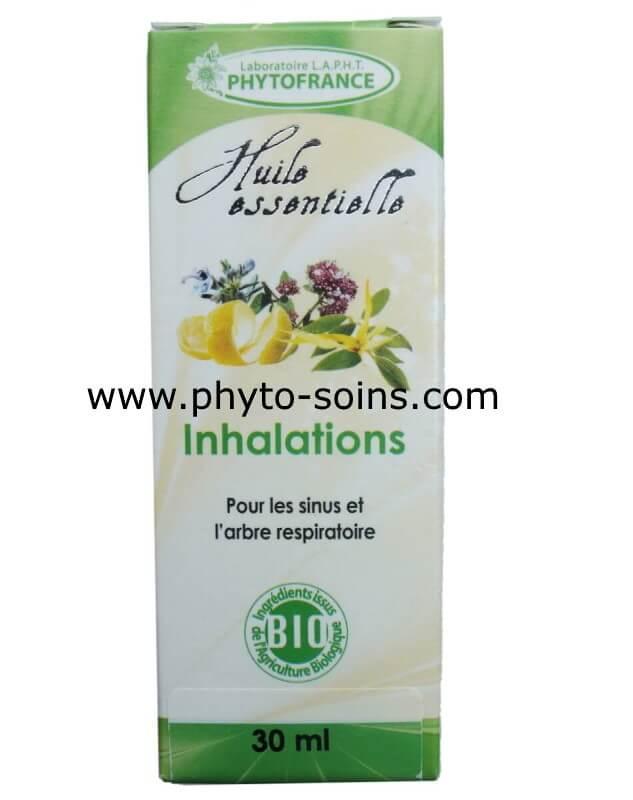 Complexe inhalation pour le rhume et les sinusites | phyto-soins